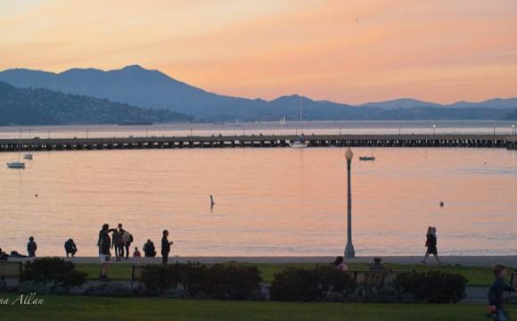 Dusk at San Francisco Bay