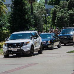 Caravan escort cars sacramento dalai lama visit allan