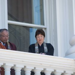 Clergy sacramento capitol dalai lama visit allan