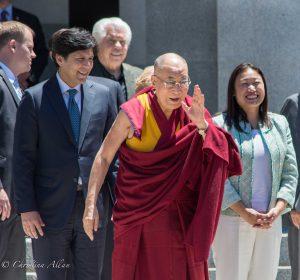 Laughing capitol sacramento dalai lama visit allan