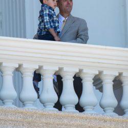 Man and boy capitol building sacramento dalai lama visit allan