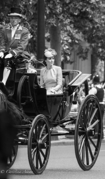 Kate, Duchess of Cambridge in Barouche Carriage