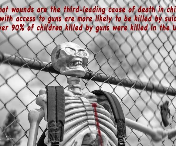 skeleton second amendment casualties bullet bleeding gun control Sacramento Allan facts dead schoolyard youth students