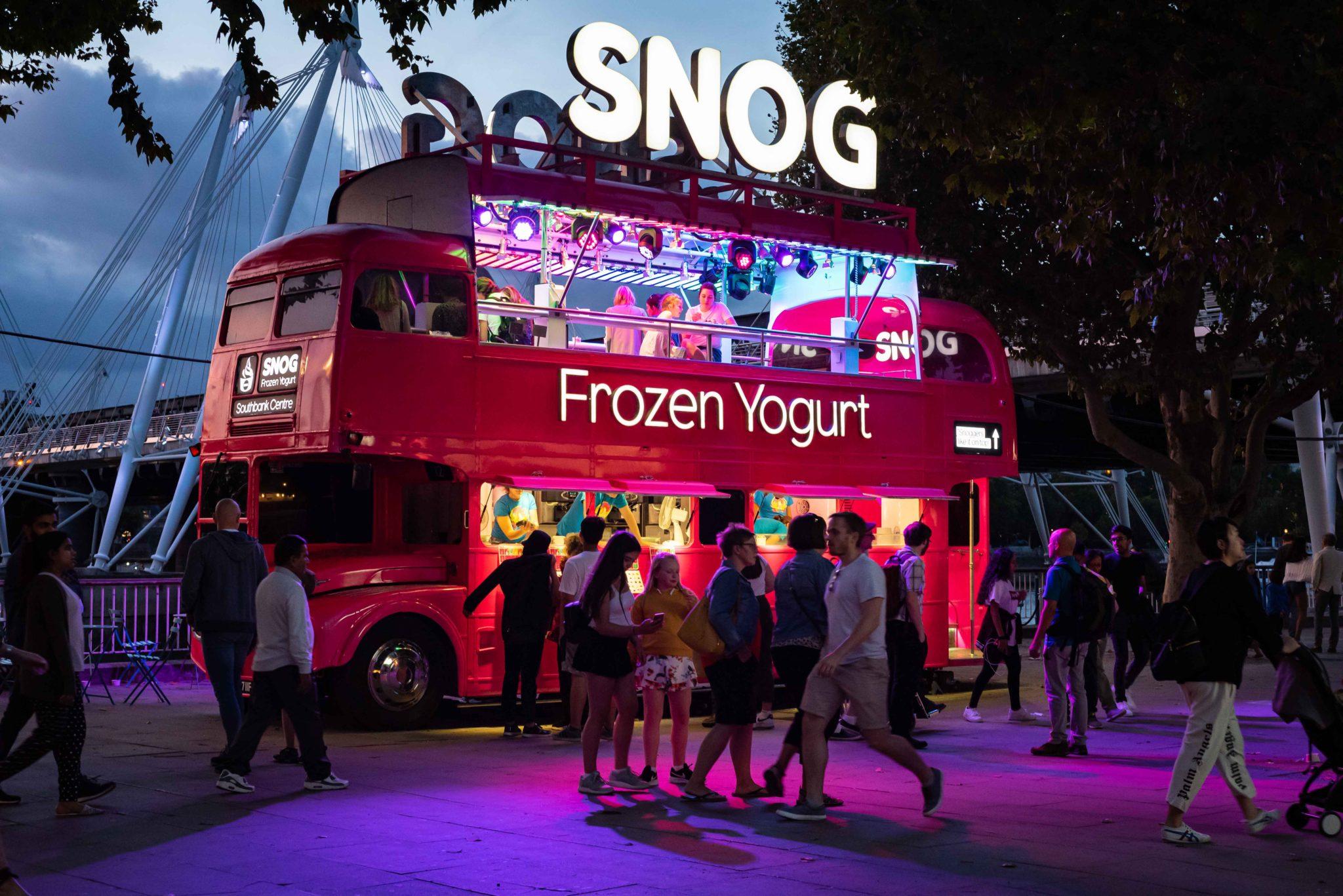 Snog Yogurt Bus