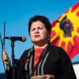 Algonquin Elder Claudette Commanda Truth and Reconciliation Day Orange Shirt Ottawa Ontario-1619