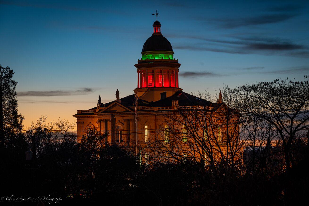 Auburn Christmas Courthouse