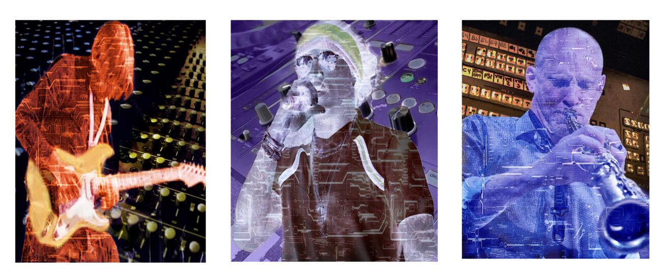 3 Musicians (in homage to Picasso)