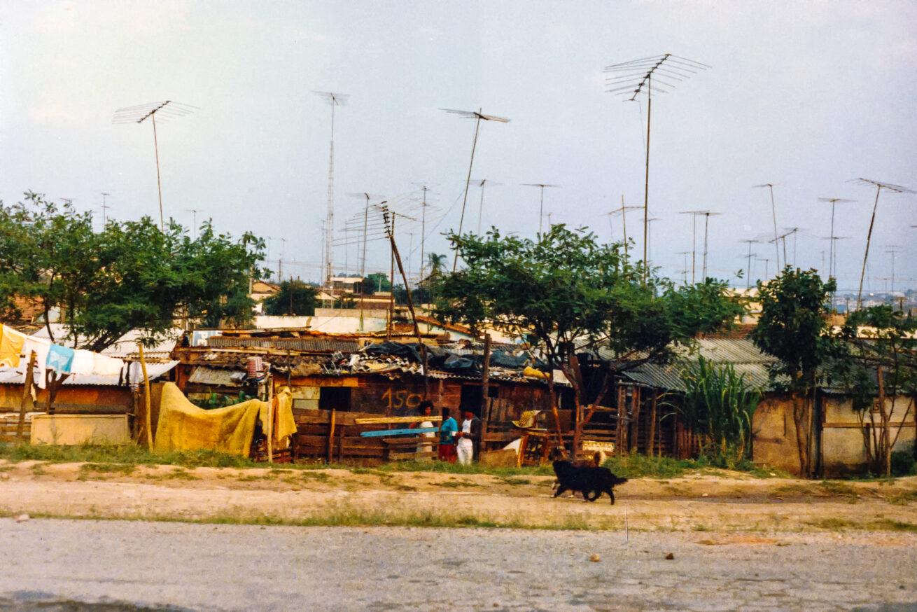Rio favela, brazil, rio de janeiro, 1987, slum,