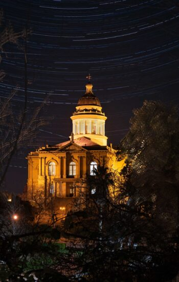 Courthouse Star Trails
