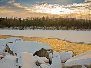 Winter Scene, Alaska