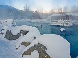 Chena Springs Resort Outdoor Hot Spring Tub