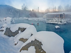 Chena Springs Resort Outdoor Hot Spring Tub