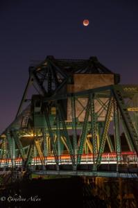 Freeport Bridge Eclipse