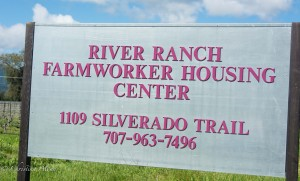Farmworker Housing Sign
