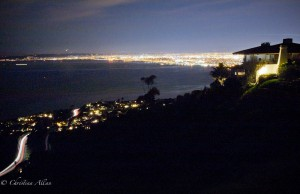 View of Queen's Diadem from Palos Verdes