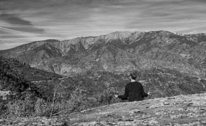 Meditation at Kings Canyon