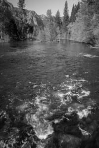Merced River from Sentinel Bridge Yosemite