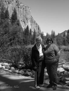 Mom and De Valley View Yosemite