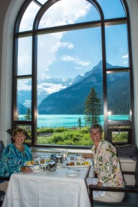 Alberta High Tea at Chateau Lake Louise