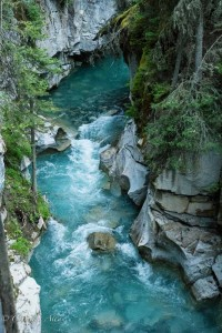 Johnston Canyon Waterway
