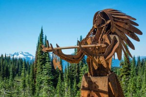 First Nations Sculpture, Mount Revelstoke National Park