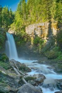 Sutherland Falls, Blanket Creek Provincial Park
