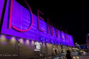Pavilions Neon Sign