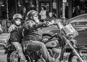 Boy-bikder-motorcycle-Toy-Run-Grass-Valley-black-and-white-DSC8868