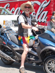 Gay-Pride-Sacramento-biker-rainbow-shorts-June-2013