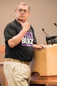 George Raya Stephon Clark police shooting City Council Meeting  sacramento allan 432018DSC 9386