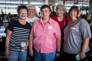 GALA Denver Sacramento Women's Chorus group photo smf airport