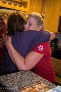 GALA Denver Sacramento Women's Chorus hug