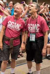 GALA Denver GGMC gay male couple flashmob
