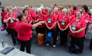 GALA Denver Sacramento Women's Chorus alley
