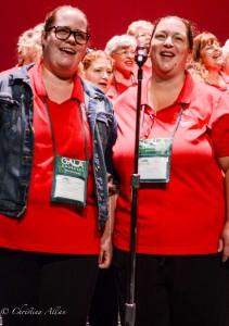 GALA Denver Sacramento Women's Chorus Buell Tech duet