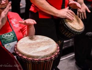GALA Denver Sacramento Women's Chorus Buell Tech Drummers Hands