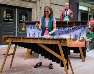 GALA Denver Performing Arts Center marimbas Low-flying Knobs