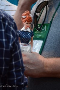GALA Denver Gay Man with Lucy Doll