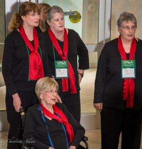 GALA Denver Sacramento Women's Chorus Embassy Suites Hotel