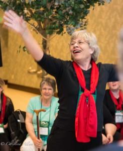 GALA Denver Sacramento Women's Chorus Embassy Suites Hotel Merri Sue Brown