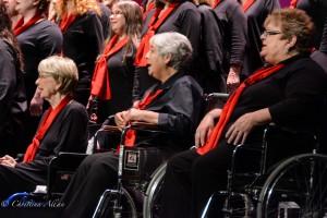 GALA Denver Sacramento Women's Chorus Buell wheelchairs