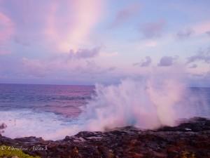Waves at Poipu