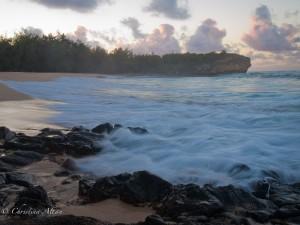 Dawn at Shipwreck Beach