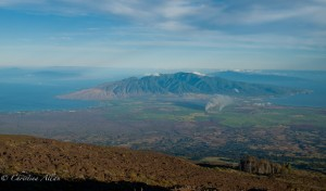 View of West Maui