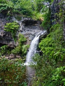 Upper Oheo Gulch Waterfall