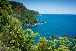 Eastern Maui coastline