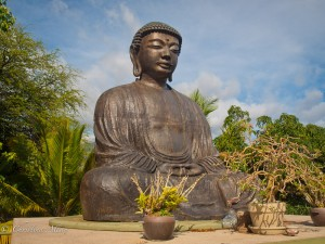 Giant Buddha at the Jodo Mission