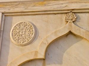 Marble Inlay at Taj Mahal
