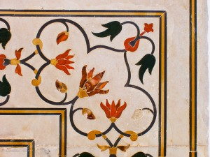 Detail from Taj Mahal