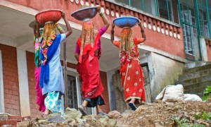 Female Construction Workers in Dharamsala